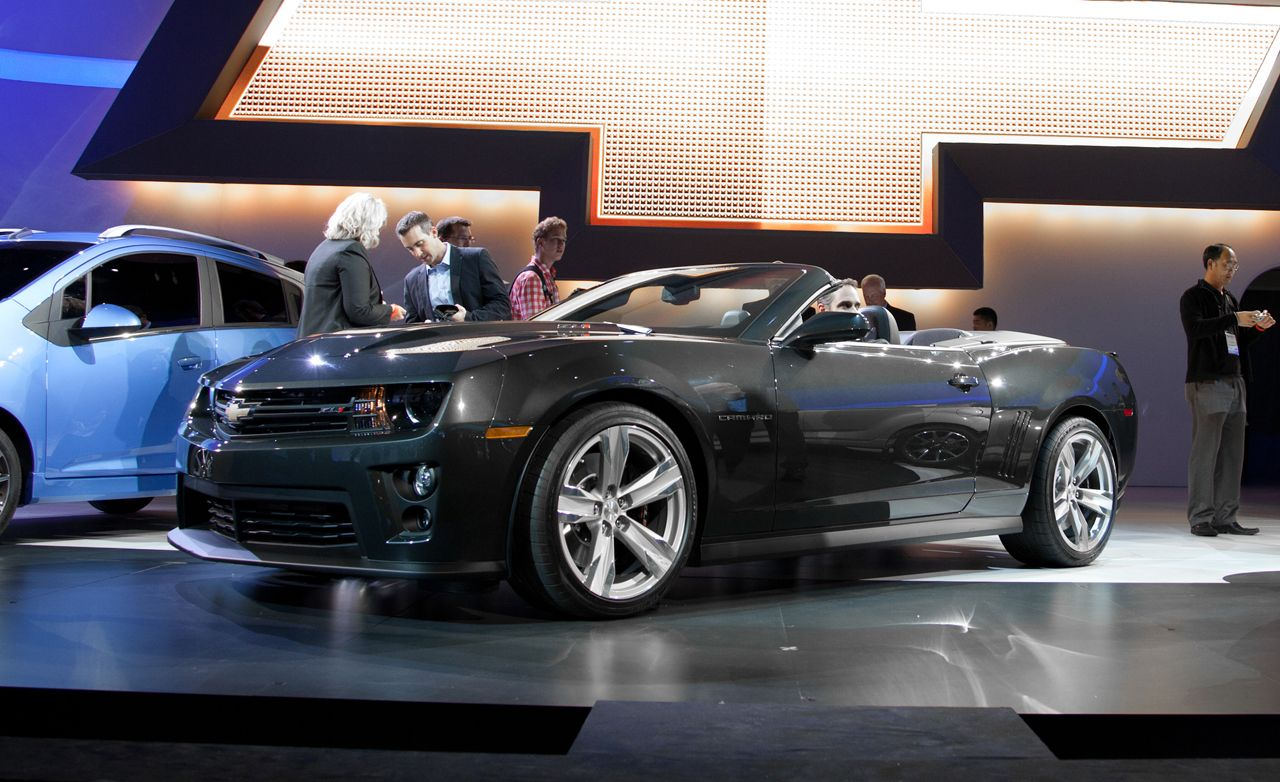 2013 Chevrolet Camaro Zl1 Convertible Announced News