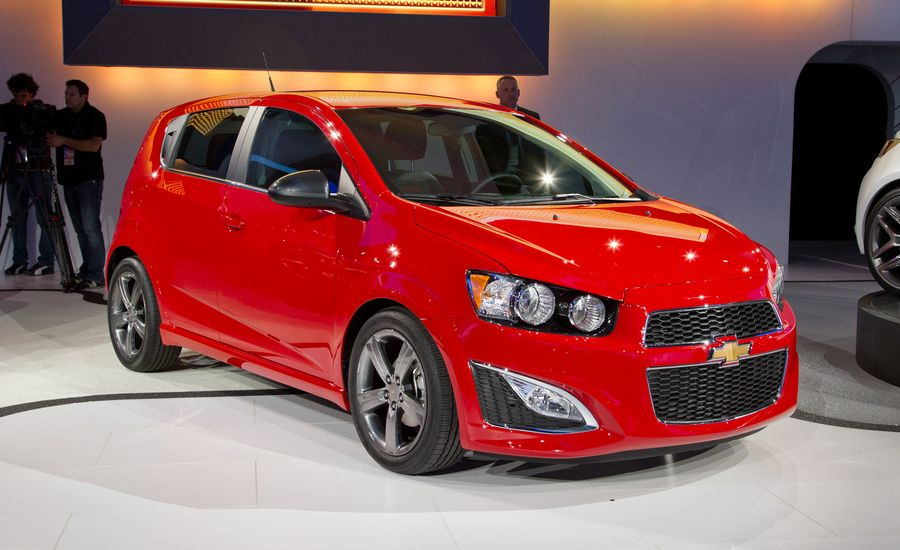 2013 chevrolet sonic rs news car and driver. Black Bedroom Furniture Sets. Home Design Ideas