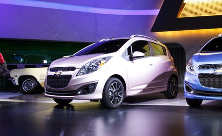 2013 Chevrolet Spark Specs and 2014 Spark EV Announced