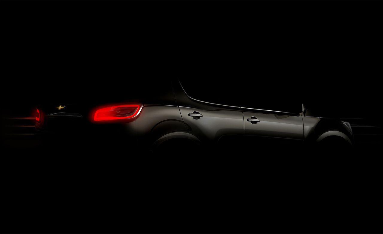 2013 Chevrolet TrailBlazer SUV Confirmed for Production on Colorado Platform