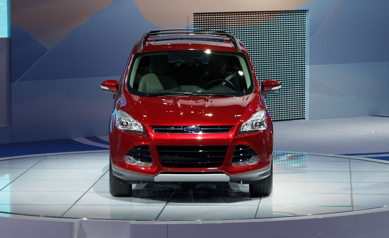 2013 ford escape official photos and info news car and driver. Black Bedroom Furniture Sets. Home Design Ideas