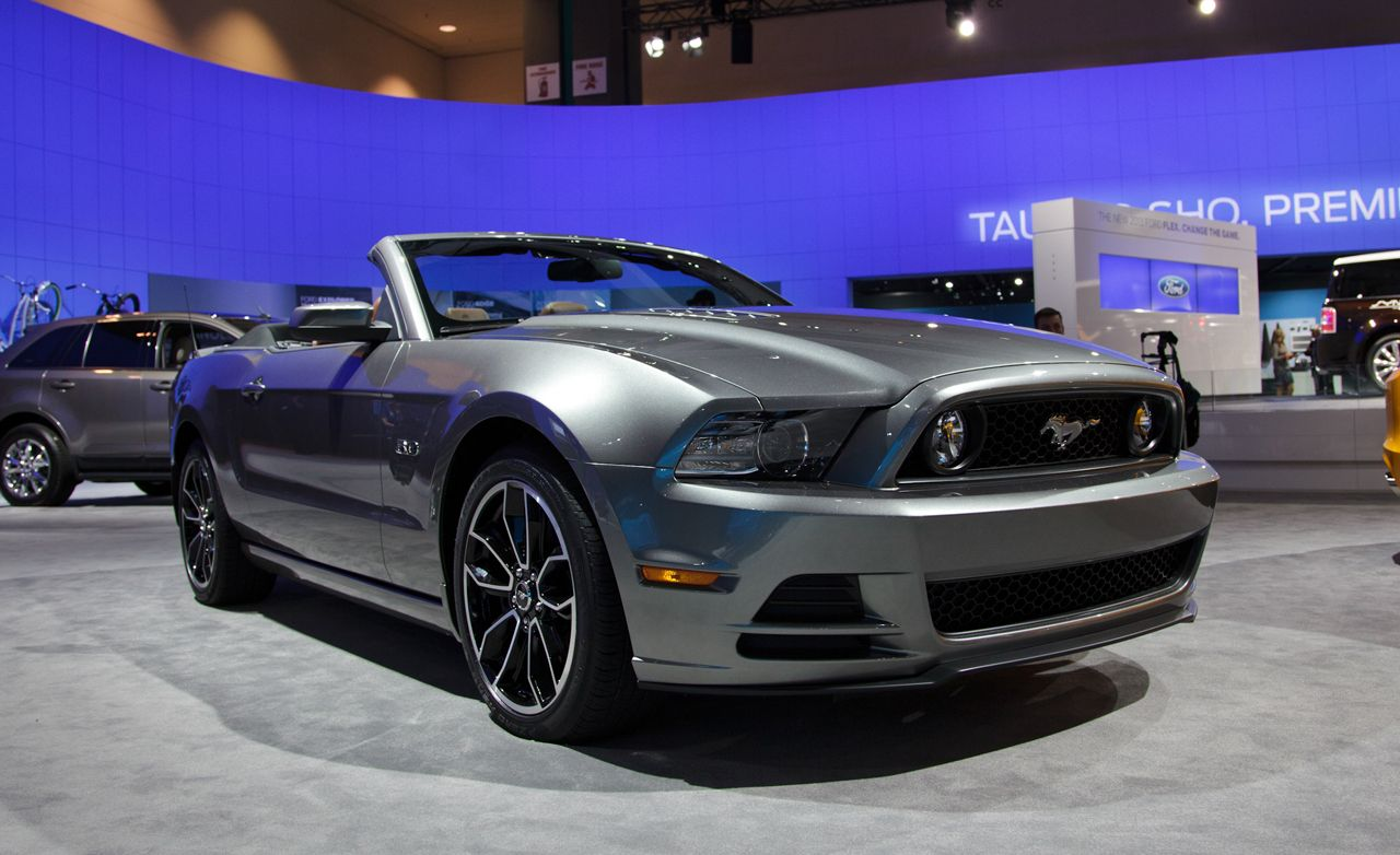 2013 ford mustang gt 5 0 convertible first drive review car and driver