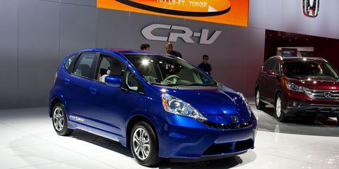 2013 Honda Fit Ev Debuts At L A Auto Show 8211 News 8211 Car