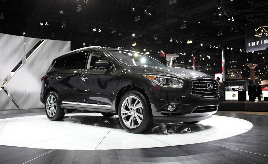 2013 Infiniti Jx35 Crossover Official Photos And Info Ndash News
