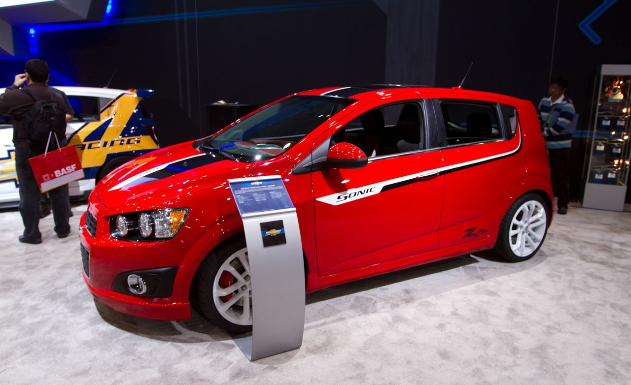 Four Chevrolet Sonics Prepped for 2011 SEMA Show