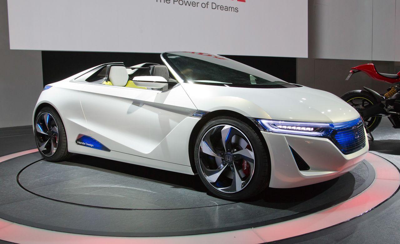 Honda EV-STER Small Sports Car Concept