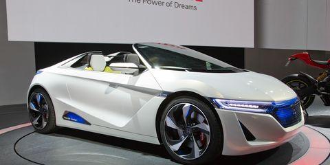 Honda Ev Ster Small Sports Car Concept Ndash News Ndash Car And