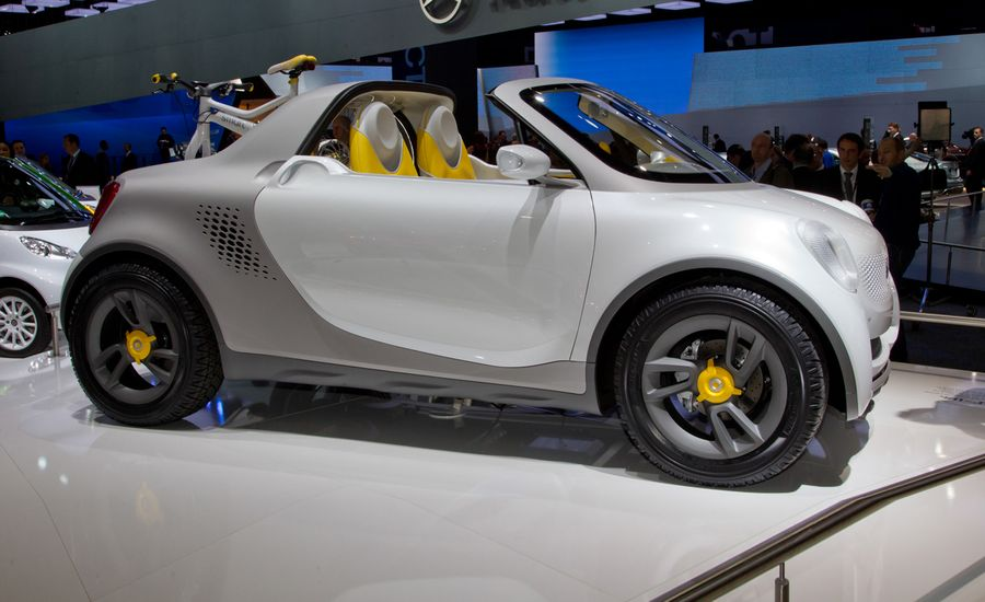 Smart For-Us Concept To Debut at Detroit Auto Show| News | Car and ...
