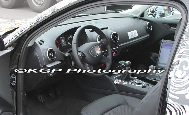 Audi A3 Spy Photos, Including Full Interior