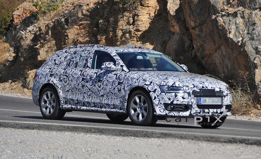 2013 Audi A4 Allroad Quattro Spy Photos