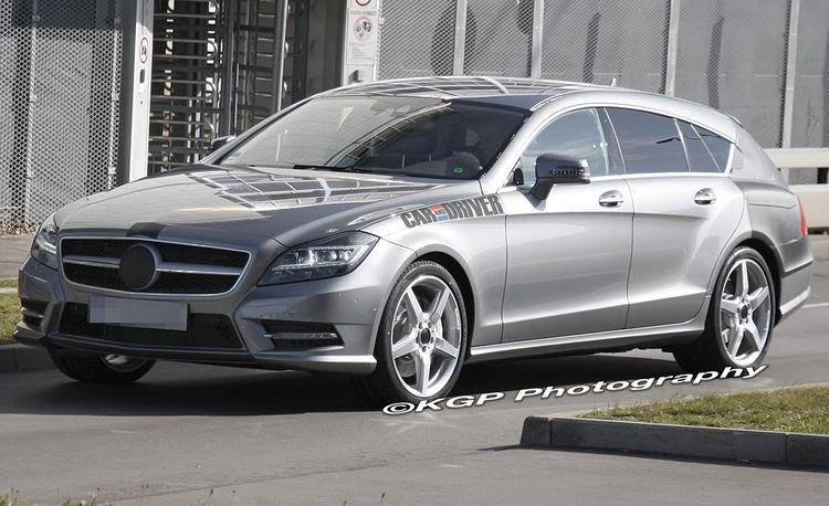 2013 Mercedes-Benz CLS-class Wagon / Shooting Brake Spy Photos