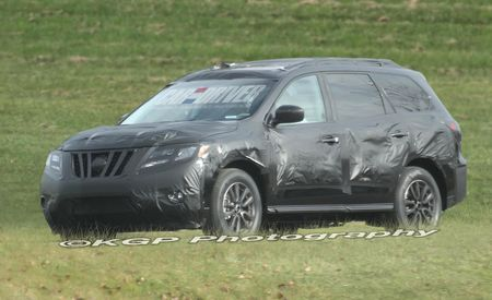 2013 Nissan Pathfinder Spy Photos