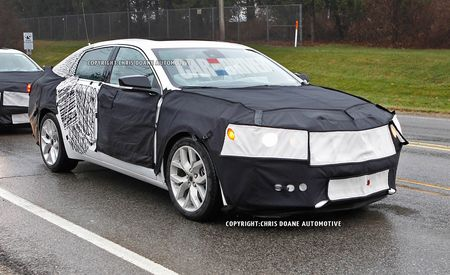 2014 Chevrolet Impala Spy Photos
