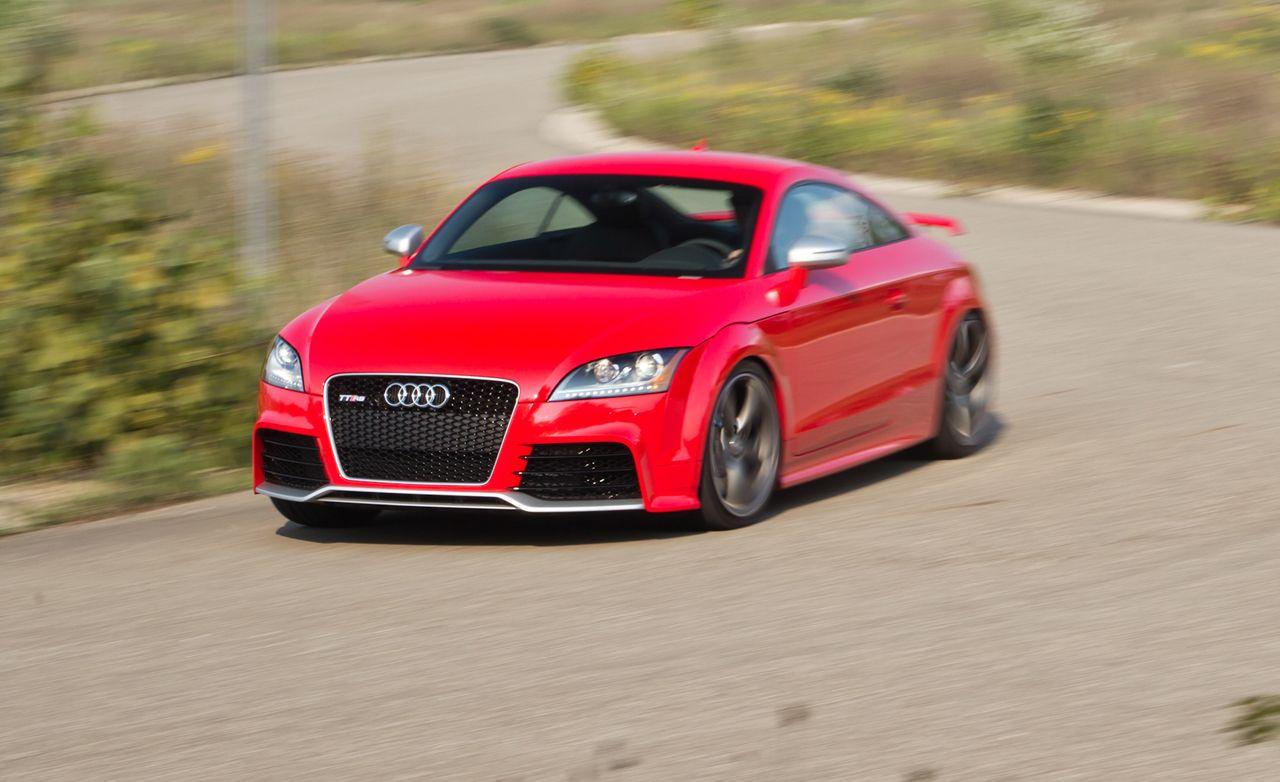 2012 Audi TT RS U.S.-Spec