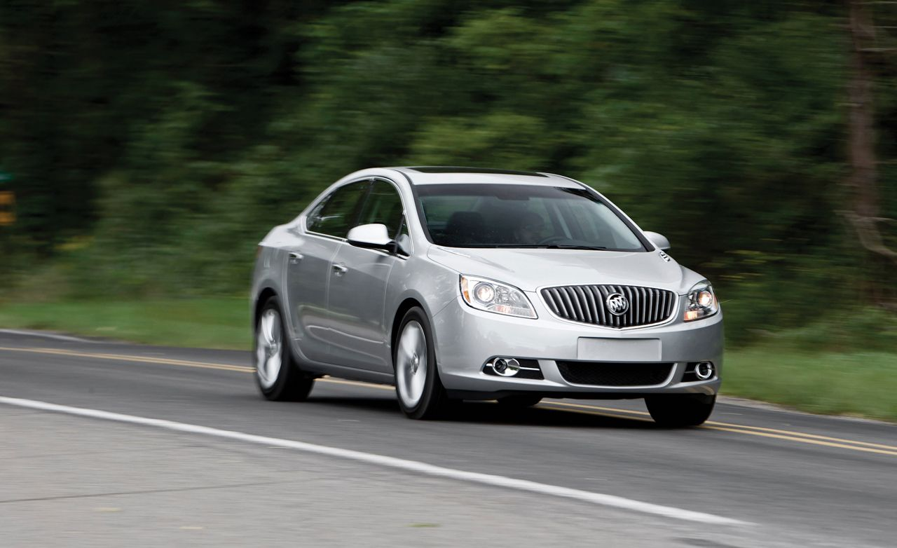 Buick Verano Review >> 2012 Buick Verano Review Car And Driver