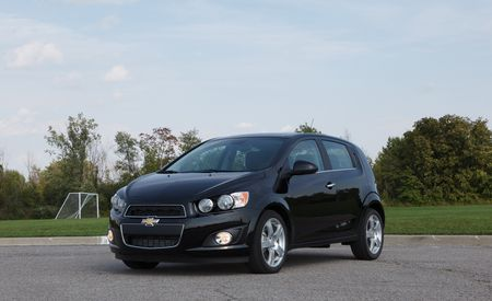 2012 Chevrolet Sonic LTZ Turbo Hatchback
