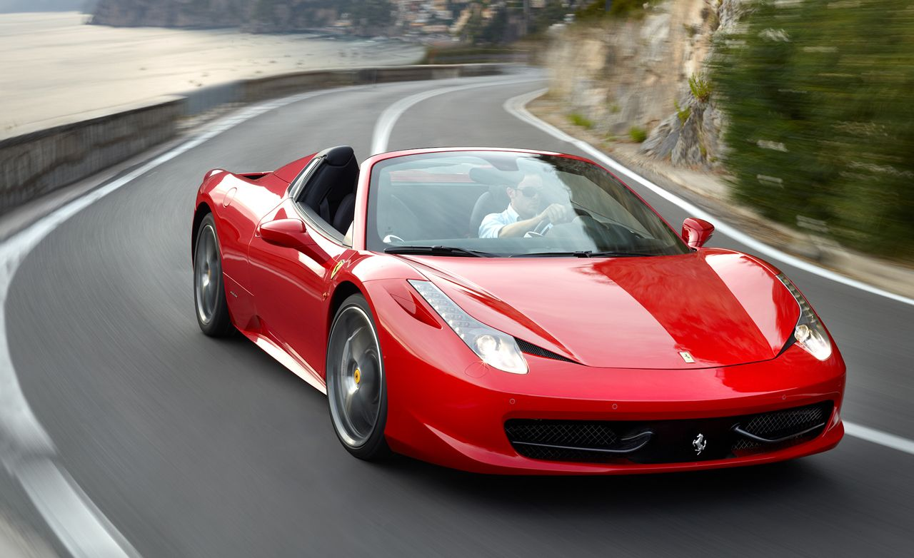 2012 Ferrari 458 Spider First Drive Review Car And Driver