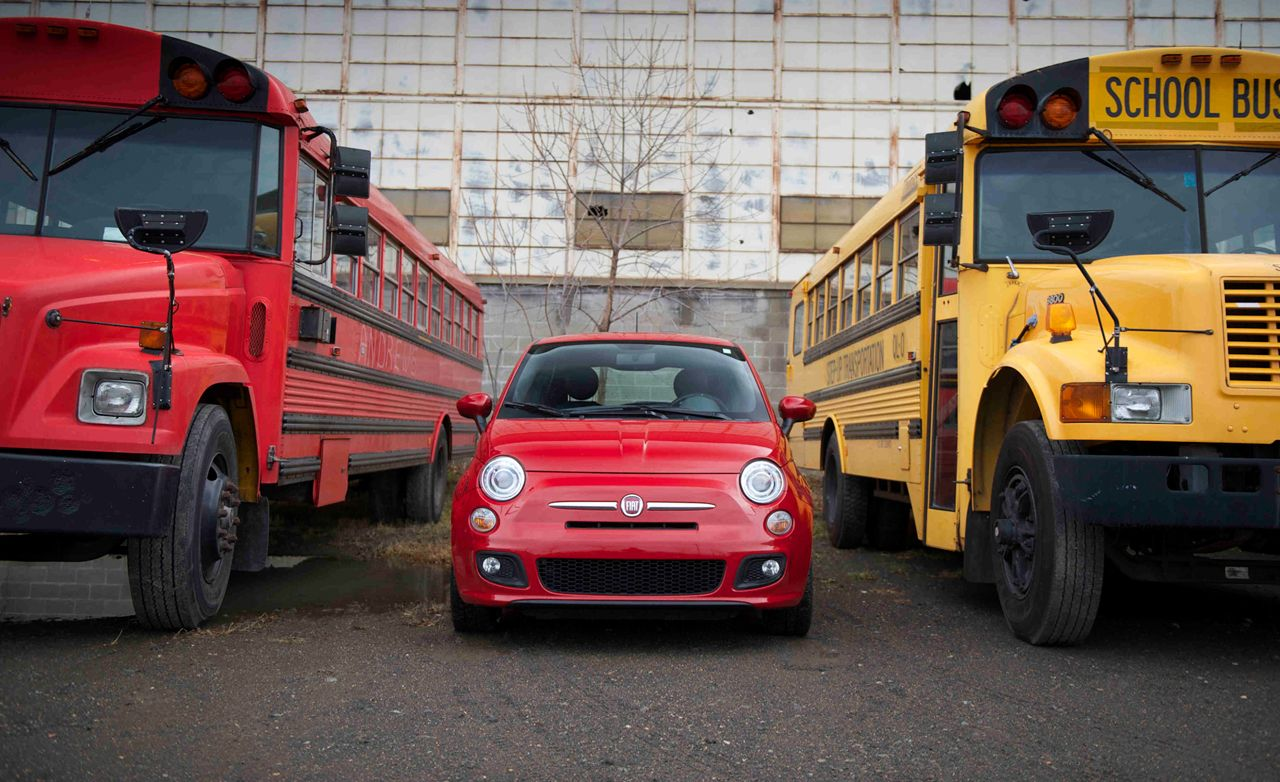 Fiat 500 sport review