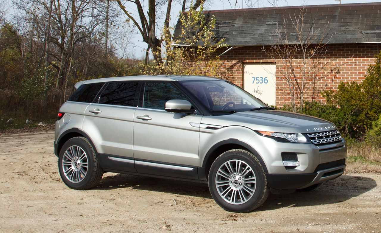 2012 land rover range rover evoque road test review. Black Bedroom Furniture Sets. Home Design Ideas