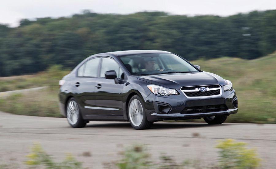 2012 Subaru Impreza Sedan Road Test Review Car And Driver