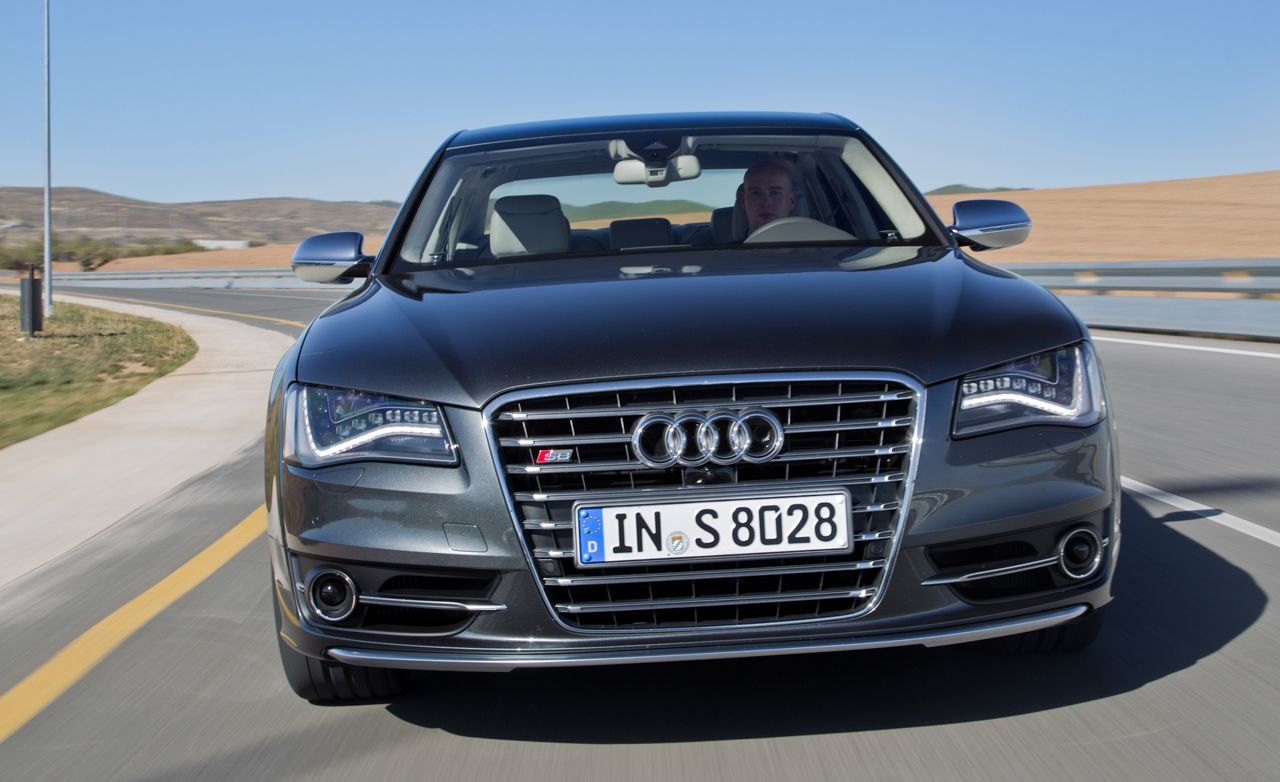 2013 audi s8 first drive review car and driver. Black Bedroom Furniture Sets. Home Design Ideas