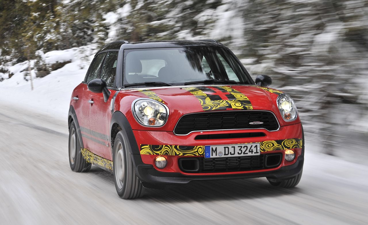 2013 mini john cooper works countryman drive review car and driver. Black Bedroom Furniture Sets. Home Design Ideas