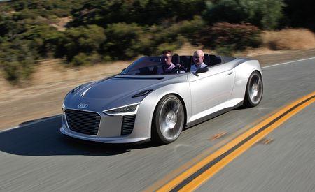 Audi e-tron Spyder