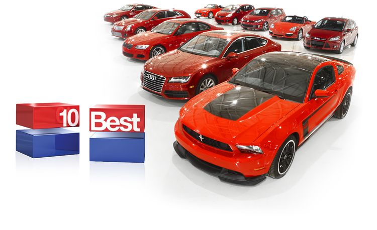 2012 10Best: Cars, Concepts, Technologies, and More
