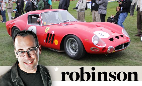 Aaron Robinson: Reality Goes Walkabout as Pebble's Auctions Turn Classics into Assets