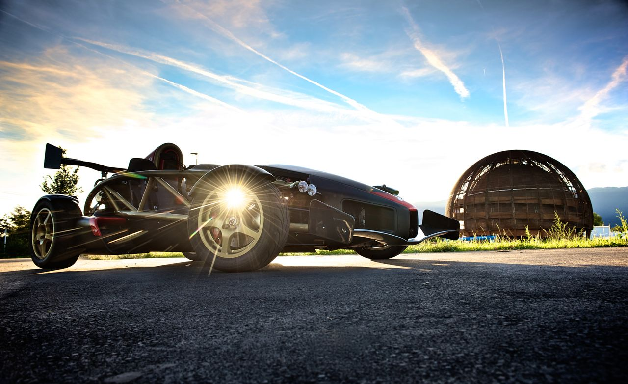 Smashing Atom: Ariel Atom V8 vs. Large Hadron Collider