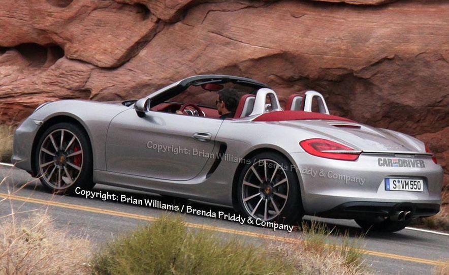 2013 Porsche Boxster S (spy photo) - Slide 4