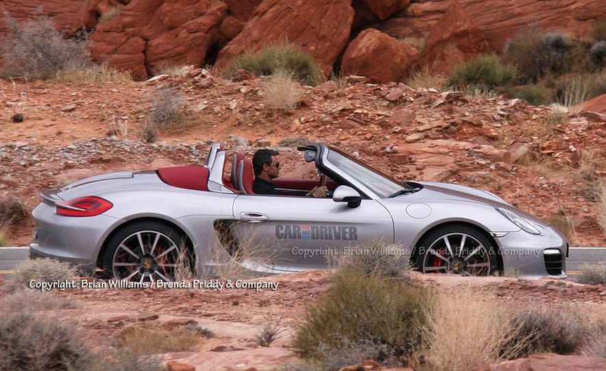 2013 Porsche Boxster S (spy photo) - Slide 2