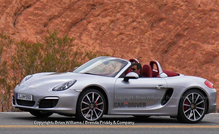 2013 Porsche Boxster S (spy photo) - Slide 1