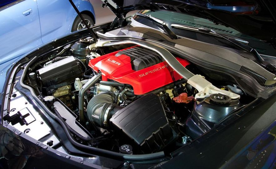 2013 Chevrolet Camaro ZL1 convertible - Slide 16