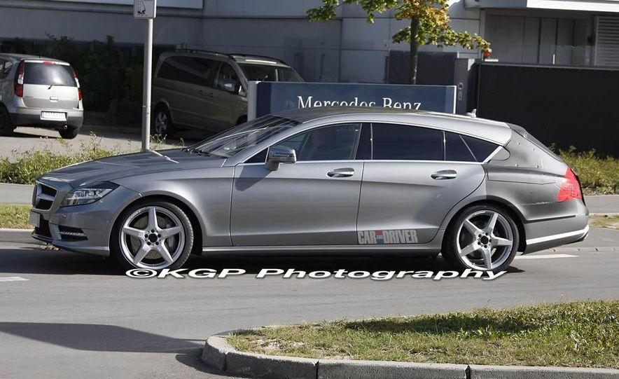 2013 Mercedes-Benz CLS Shooting Brake (spy photos) - Slide 1