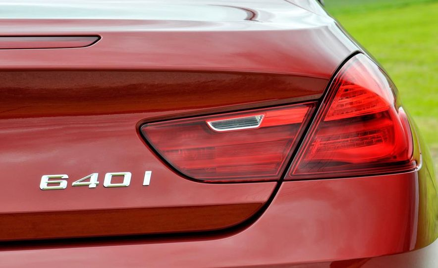 2012 BMW 640i coupe - Slide 16