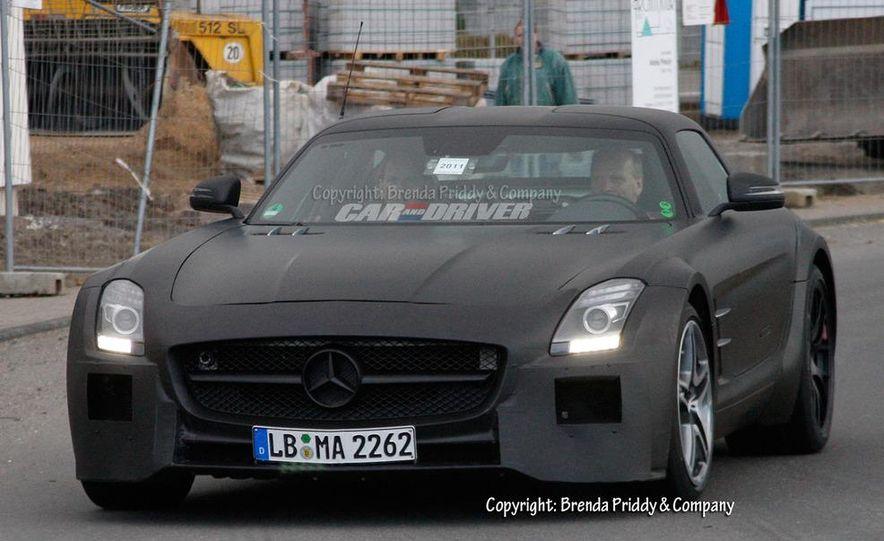 2014 Mercedes-Benz SLS AMG Black Series (spy photo) - Slide 10