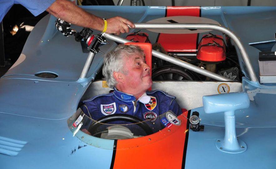 Brian Redman in a 908/3. - Slide 1