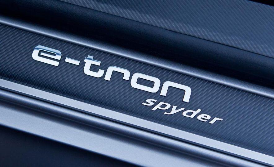 Audi e-tron Spyder concept - Slide 57