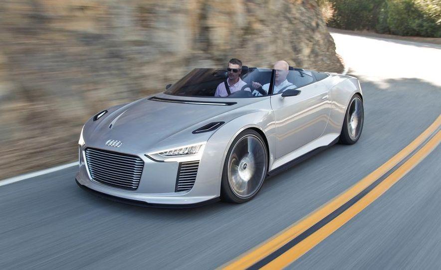 Audi e-tron Spyder concept - Slide 5