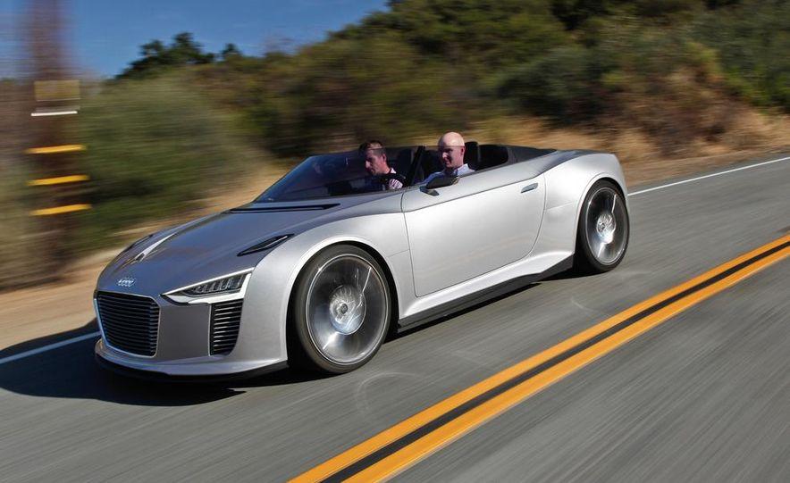 Audi e-tron Spyder concept - Slide 9