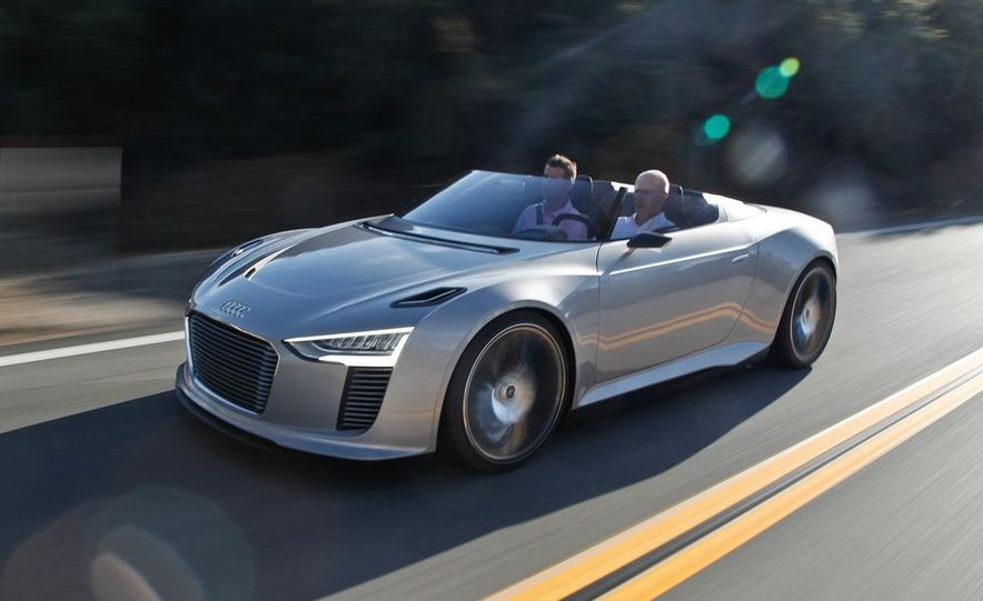 Audi e-tron Spyder concept - Slide 10