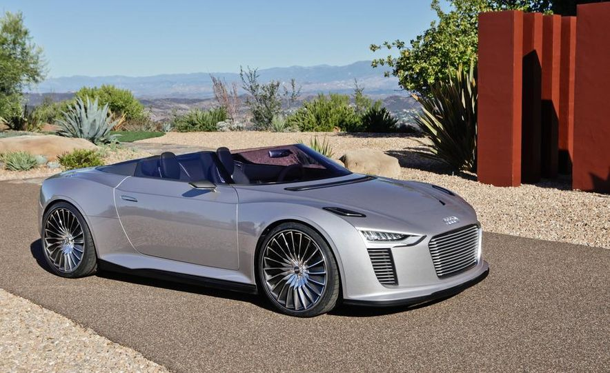 Audi e-tron Spyder concept - Slide 16