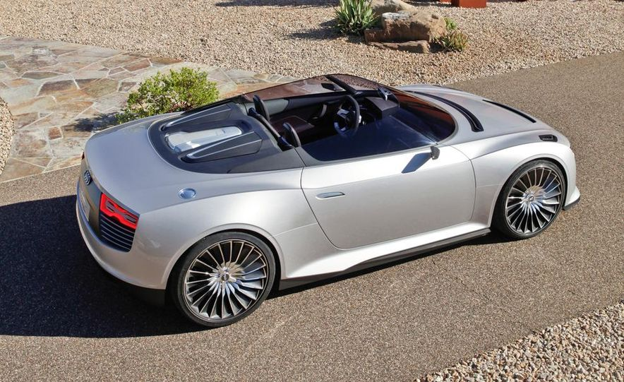 Audi e-tron Spyder concept - Slide 19
