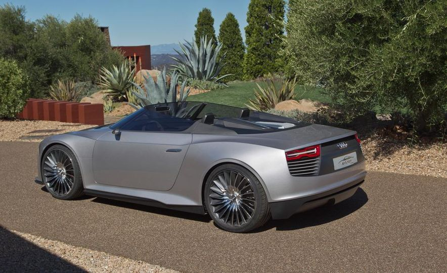 Audi e-tron Spyder concept - Slide 22