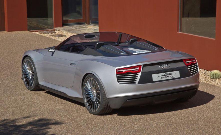 Audi e-tron Spyder concept - Slide 25