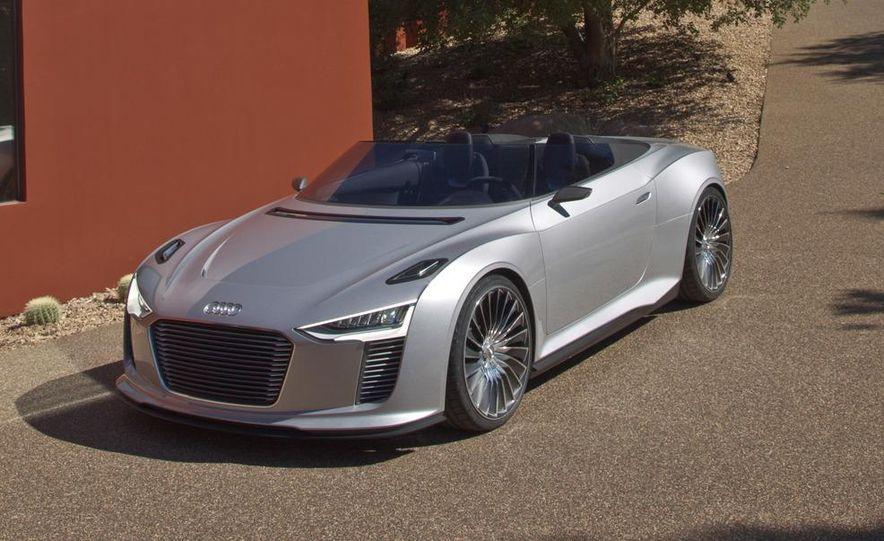 Audi e-tron Spyder concept - Slide 26