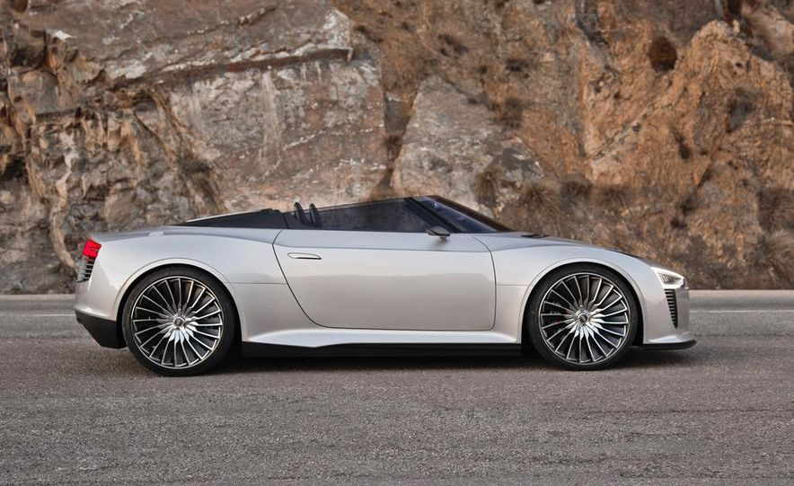Audi e-tron Spyder concept - Slide 31