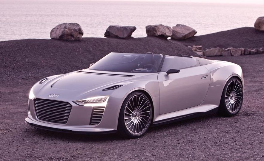 Audi e-tron Spyder concept - Slide 32