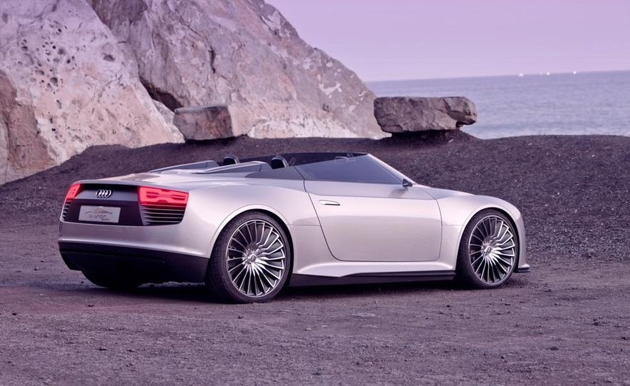 Audi e-tron Spyder concept - Slide 34